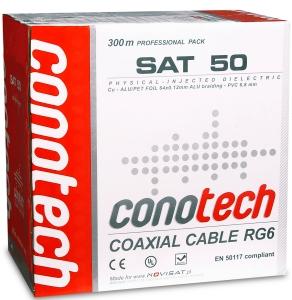 PRZEWÓD KONCENTRYCZNY CONOTECH NS50 (300m PULL BOX)